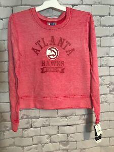 Atlanta Hawks Women's Long Sleeve Sweat Shirt -Size Medium