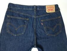 Levi's 501 para hombres jeans índigo calce recto Talla W36 L30 LEVI STRAUSS red tab