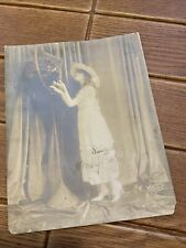 Vintage Antique Signed Photo Mary Pickford