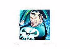 The Punisher Gemälde - Limitierte Replik auf Aquarellpapier