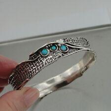 Silver Fab Opal Bracelet (H) Y Hadar Designers Israel Handcrafted Artistic Solid