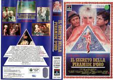 IL SEGRETO DELLA PIRAMIDE D'ORO (1988) VHS