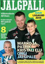 Eesti Jalgpall Suur Liigagiid 2014 - Estonian Football Season Preview Magazine