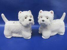 West Highland Terrier Salt & Pepper - Westie Cruet - Gift Boxed - New