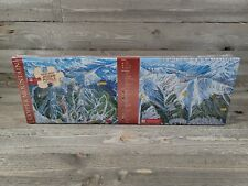 1995 Aspen Mountain Ski Trail Map Jigsaw Puzzle 550 Pieces Vintage Colorado