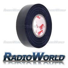 25m X19mm Scapa Heavy Duty Eléctrico Pvc Cinta Aislante Cable Rollo Negro