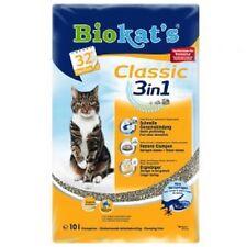 Biokat's Classic 3 in 1 Katzenstreu , 6 x 10 Liter Sparpaket