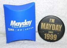 Mayday The Best of 1999-2013 Heavy-duty Version Taiwan Promo BADGE PIN (button)