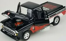1957 Chevy Cameo Diecast Truck Metal Bank from 2001 SEMA 78052