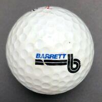 Barrett Logo Golf Ball (1) Maxfli DDH III Dunlop PreOwned