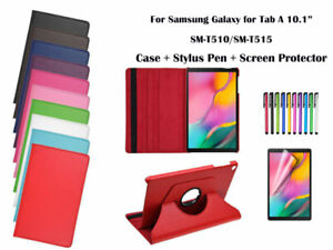 360°Rotate Litchi Grain PU Leather Cover Case for Samsung Galaxy Tab A 10.1 2019