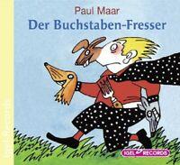 PAUL MAAR - DER BUCHSTABEN-FRESSER  CD NEU