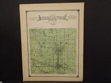 Iowa Tama County Map Toledo & Tama Township 1916  J13#09