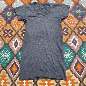 Women's Lululemon Swiftly Tech Short Sleeve Flexible Athletic Shirt Gray 2 / XSM