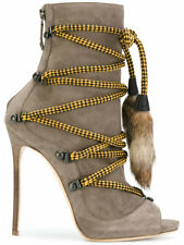 Dsquared2 Bungee Rope Ankle Boots 5138 Women Shoes 37