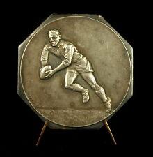 Médaille Sport Rugby dans sa boite 1962 à André Chabut par F demey Medal