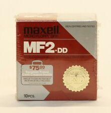 Maxwell MF2-DD Micro Floppy Disk Double Sided/Density/Track - 135 TPI 10 PACK
