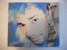 RODDY : I'VE HAD ENOUGH ( 3 VERSIONS ) [ CD-MAXI PORT GRATUIT ]
