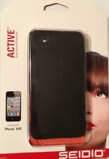 Seidio Active Series Dual Layer Case Cover For iPhone 4S / 4 Black