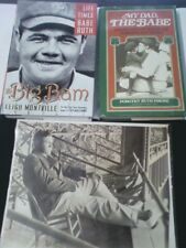 Babe Ruth Book&Photo Collection,Life&Time&My Dad The Babe & Rare Photo.