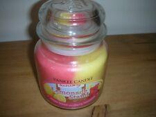 Yankee Candle Medium Swirl pot Lemonade stand d'origine NEUF SWIRL bocaux