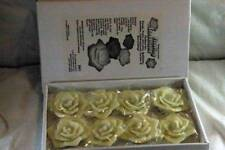 Led Innovations Set Of 8 Floating Flower Candles Nib