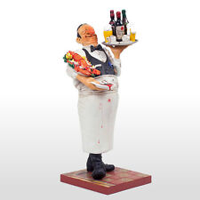 """THE COMIC ART of Guillermo Forchino """"THE WAITER"""" figurine RESTAURANT figure NEW"""