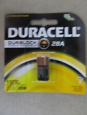 Duracell 28A Battery.  6V, PX28A, A544, 4LR44 2 PCS   NEW