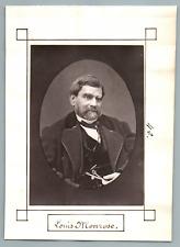 France, Paris, Théâtre, Louis Monrose  Vintage print. Antoine-Martial Louis Bari