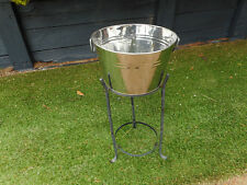Alloy pot and stand, item 423, Pick up Langwarrin
