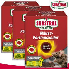 Substral Celaflor 3 x 200 g Mäuse-Portionsköder Alpha P
