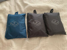 Muji Medium Cloth Packing Cube Travel Pouch Bag x 3  New Without Tag