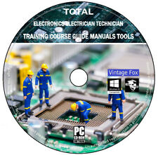 Electronics Electrician Technician Complete Training Course Guide Manuals Tools