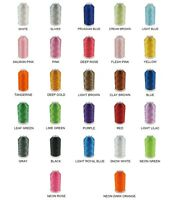 5000M Huge Spool Polyester Embroidery Machine Thread - 40wt - 27 Colors