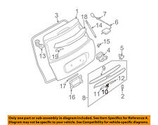 MINI OEM Cooper Liftgate Tailgate Hatch-Handle Outside Exterior 51137074020