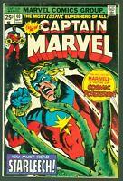 Captain Marvel #40 FINE Marvel Comics 1975