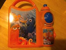 DISNEY FINDING DORY CHILDRENS Lunch Box With Sports Bottle School Set Orange