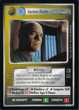 STAR TREK CCG THE BORG RARE CARD EQUINOX DOCTOR (non aligned)