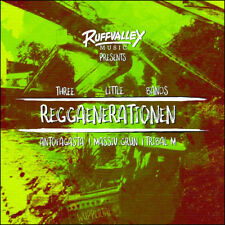 Reggaenerationen CD 2017 (Massiv Grün, Tribal M, Antofagasta)
