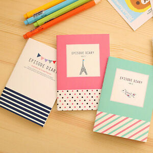 FT- Cartoon Cute Little Notepad Memo Paper Journal Diary Notebook Stationery UTi