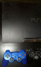 Sony PlayStation 3 PS3 Slim 120 GB + 2 Dualshock 3 Controllers