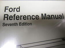 Snap On SCANNER USER MANUAL  FORD reference manual 7th edition