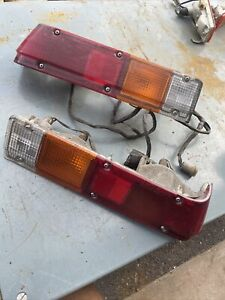 Datsun 720 Pickup Truck Rear Taillights OEM Pair Right & Left