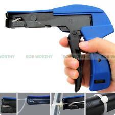 Nylon Cable Tie Gun Installation Tensioning Fastener Plastic Nylon Zip Cutting