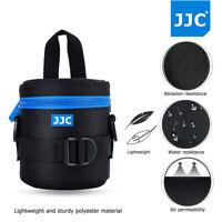 JJC 78x125mm Deluxe Lens Pouch Case Bag with Shoulder Strap for Canon Nikon Lens