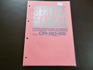 Original Service Manual Schaltplan Akai CR-80-SS