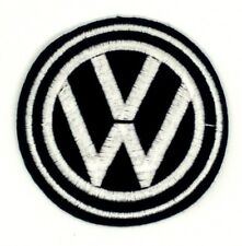 Volkswagen Logo/ Emblem Embroidered Iron On Patches 396