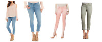 NEW Jessica Simpson Women's Rolled Crop Skinny Jean - VARIETY