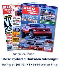 Für den Fan! Opel Monterey 3.2 24V V6 LTD Literaturpaket