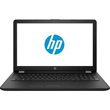 HP 15.6 HD AMD E2-9000e 2GHz 1TB HDD 4GB RAM DVD-Writer Windows 10 Webcam Black
